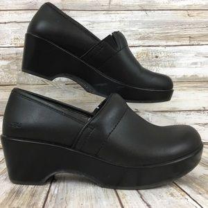 JAMBU Professional Clogs Cordoba black Leather